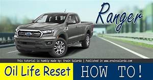 How To Reset  Ford Ranger Oil Change Required Tutorial