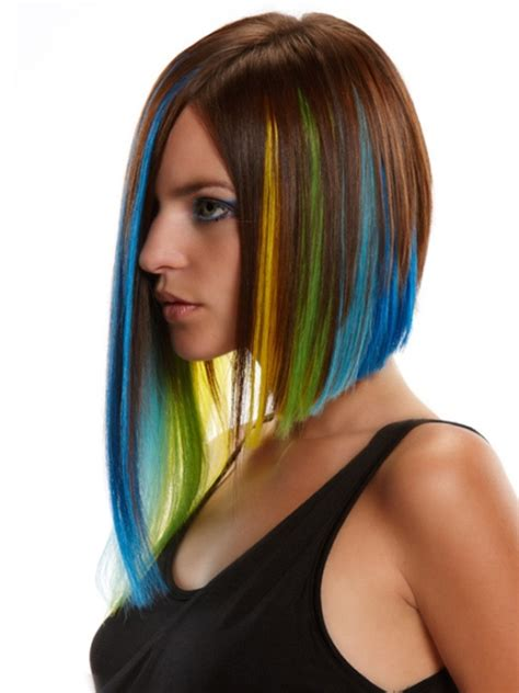 tinted hair styles 16 most recent colored hairstyles for circletrest 8010