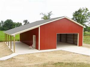30 x 40 x 12 porch custom barn construction michigan With 30 x 40 shed