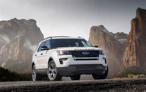2020 Ford Explorer Goes Rearwheel Drive, Steals Lincoln