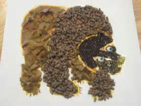 Brown Bear Texture Craft