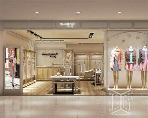 Gr153 Fashion Clothing Store Interior Designguangzhou