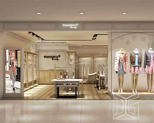 Gr153 fashion clothing store interior design guangzhou for Interior decorator furniture store