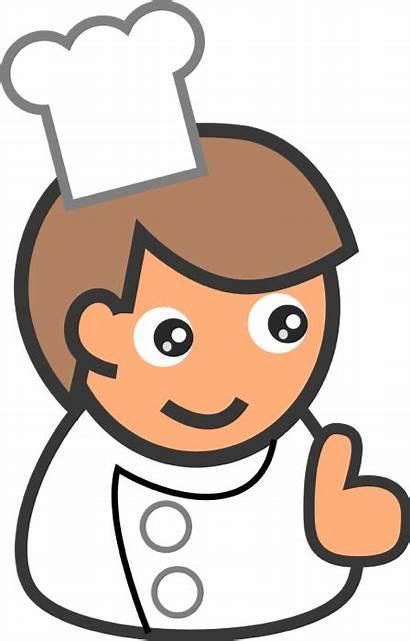 Clipart Chef Chefs Cartoon Transparent Vector Simple