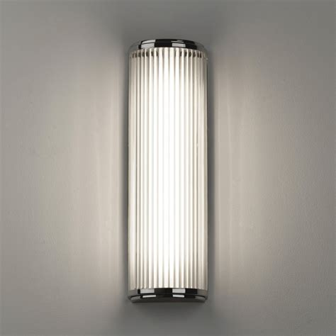 astro 7838 versailles 400 led ip44 wall light polished chrome
