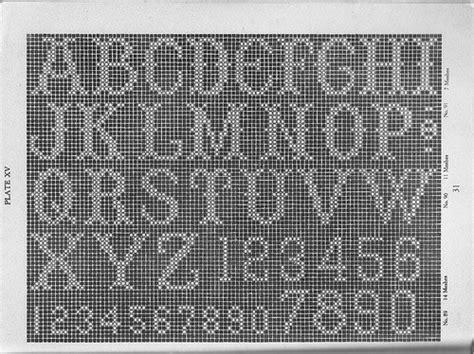 crochet letter patterns guide patterns