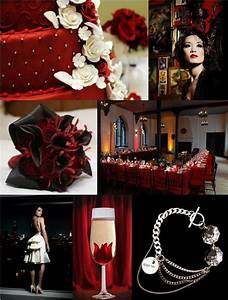 old hollywood ideas weddingbee With black and red wedding ideas