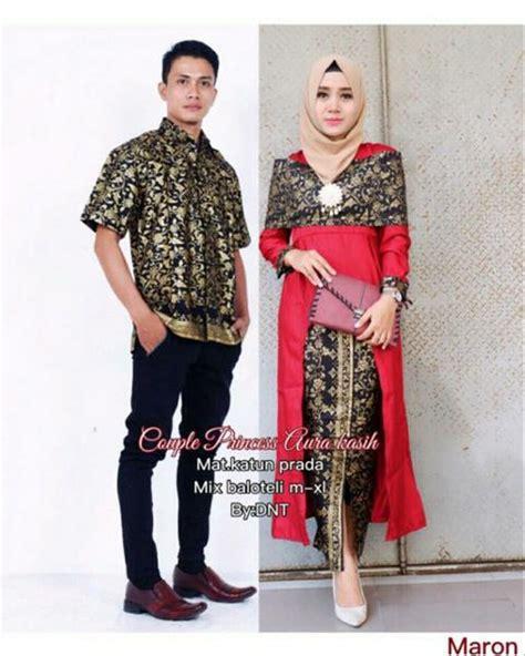 jual batik couple sarimbit seragam pesta hijab baju gamis muslim maxi dress long cardi kebaya