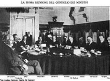 riunione consiglio dei ministri storia dell italia fascista