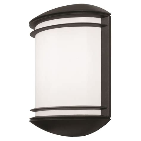 lithonia lighting olcs 8 ddb m4 led outdoor black bronze wall sconce ebay