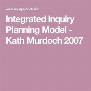 Integrated Inquiry Planning Model