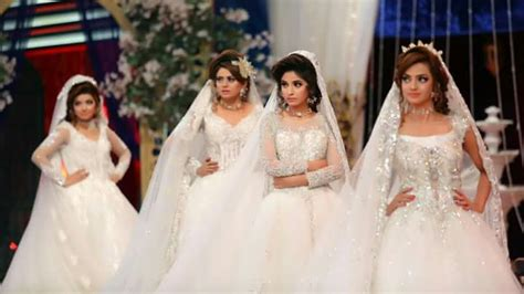 Kashif Aslam Showcasing His Botique Beautiful White Bridal