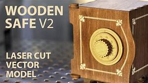 Wooden SAFE Project plan for laser cut - YouTube