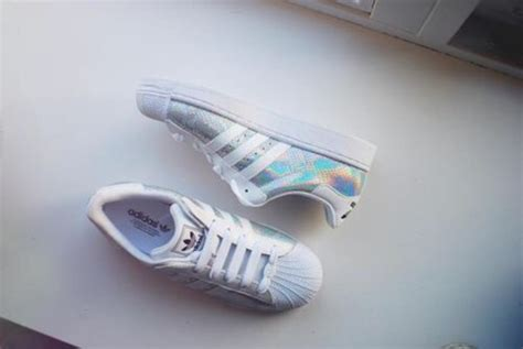 Shoes, Adidas Superstars, Adidas, Sneakers, Holograhic