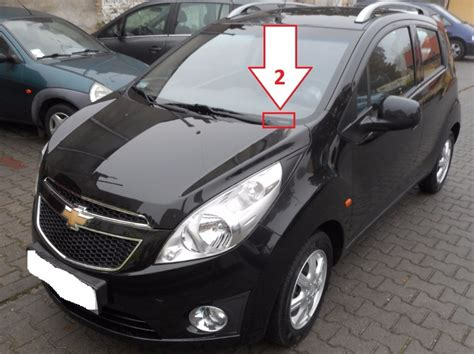 Chevrolet Number by Chevrolet Spark 2010 2012 Where Is Vin Number Find