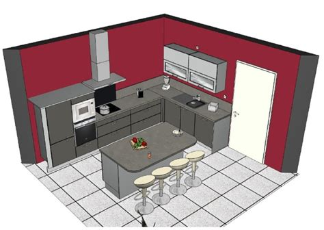 conseils sens pose carrelage cuisine peinture murs