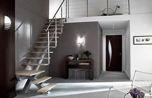 idee deco entree avec escalier With entree de maison avec escalier