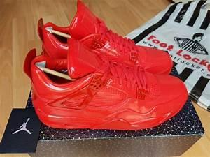 Nike Air Jordan 4 11Lab4 RED Patent Leather UK10 SOLDOUT ...