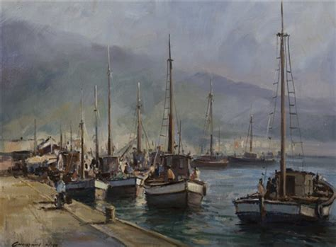 Boat Auctions Cape Town fishing boats cape town by christiaan on artnet
