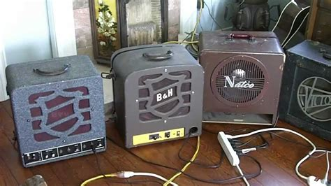 Vintage Blues Tube Amps, Great Tone, 100% Us Parts, 1950