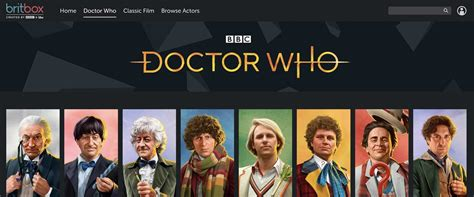 britbox uk review  doctor  big blue box podcast