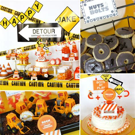construction truck themed 1st birthday party planning ideas 5 cool 1st birthday themes for boys tech chic