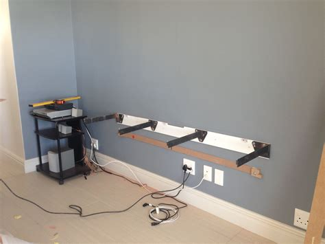 Floating Cabinet Brackets ode floating television unit install mirror edge networks
