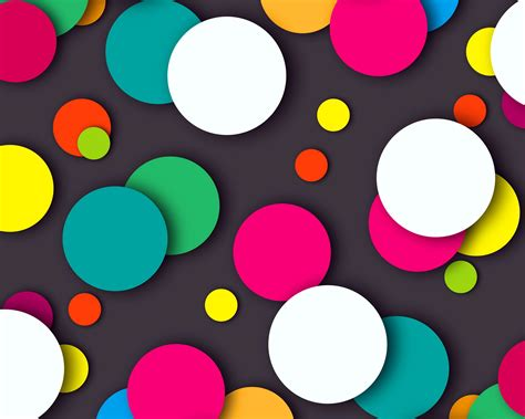 Creative Wallpapers For Iphone Wallpaper Colorful Dots Multicolor Hd Abstract 925