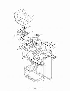 Mtd 13aj78ss099  247 288841   Lt2000   2011  Parts Diagram For Seat  U0026 Fender