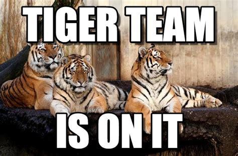 Tiger Meme Tiger Team Tiger Team Meme On Memegen