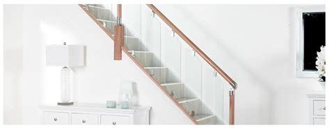 fusion banister fusion glass panels for stairs and landings system for