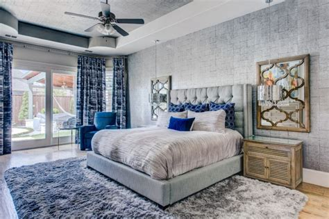 ten ideas dazzling blue gray bedroom decohoms