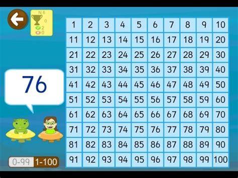 Aprender Números Del 1 Al 100 En App Matemáticas Youtube