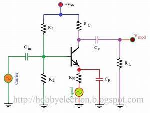 Transistor Am Modulator Circuit Diagram