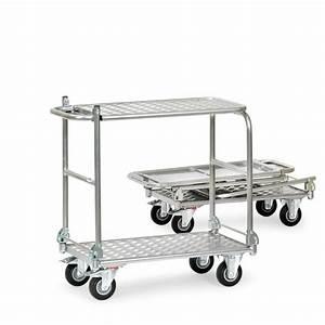 Chariot De Transport Pliable : chariot pliable en aluminium axess industries ~ Edinachiropracticcenter.com Idées de Décoration