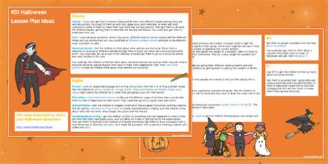 Halloween Lesson Plan Ideas Ks1 Halloween, Halloween Lessons, Ks1 Lesson