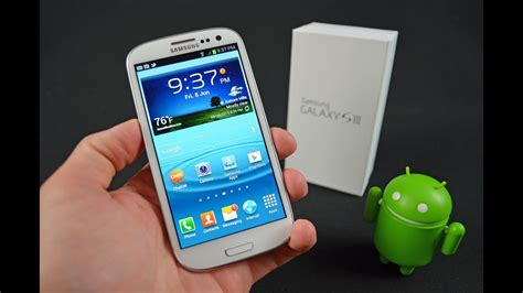 samsung galaxy s iii unboxing review youtube