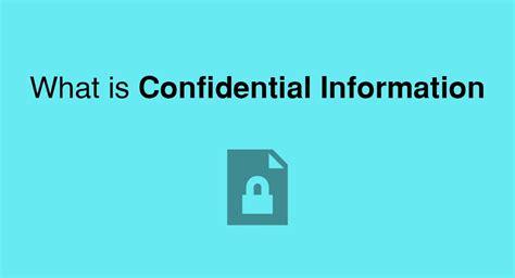 confidential information everynda