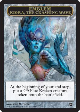 Kiora The Crashing Wave Deck Modern by Born Of The Gods Tokens Magic The Gathering