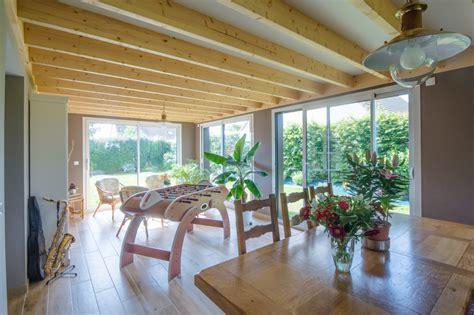 extension en ossature bois 224 colleville calvados maisons d int 233 rieur 224 caen ossature bois