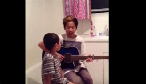 Mom Catches Her Sons Singing Ed Sheeran Cover How Sweet