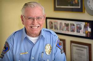 Behind the Badge - This senior volunteer for the Fullerton ...