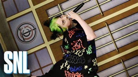 'SNL': Billie Eilish Performances Spark Social Media ...