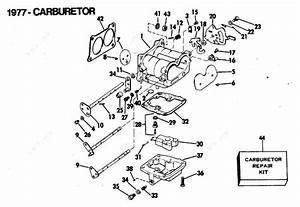 Evinrude 1977 140 - 140740s  Carburetor