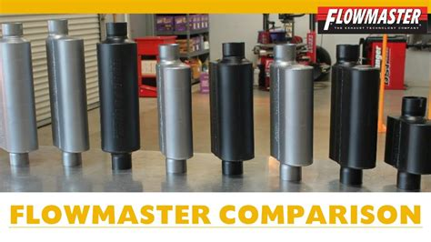 Flowmaster Muffler Comparison W/examples