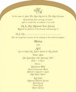 Muslim wedding invitations wedding love pinterest for Muslim wedding invitations wording examples