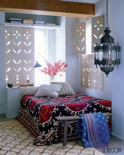 chambre style ethnique idée décoration chambre adulte ethnique