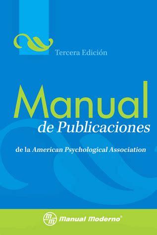 A Must Apa Manual Spiral Bound 6th Edition Grad Manual De Publicaciones De La American Psychological