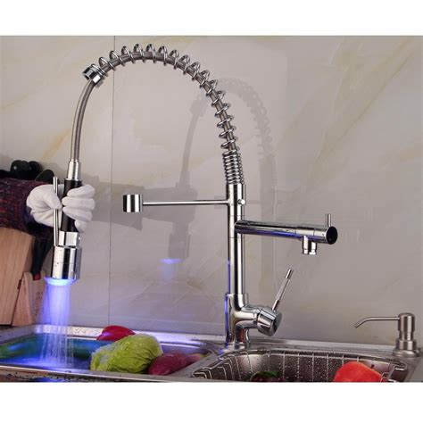changing kitchen sink faucet contemporary single handle chrome finish pull out spray