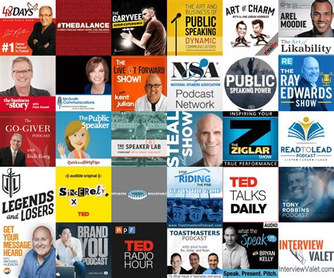 The 30 Best Podcasts For Speakers  Interview Valet